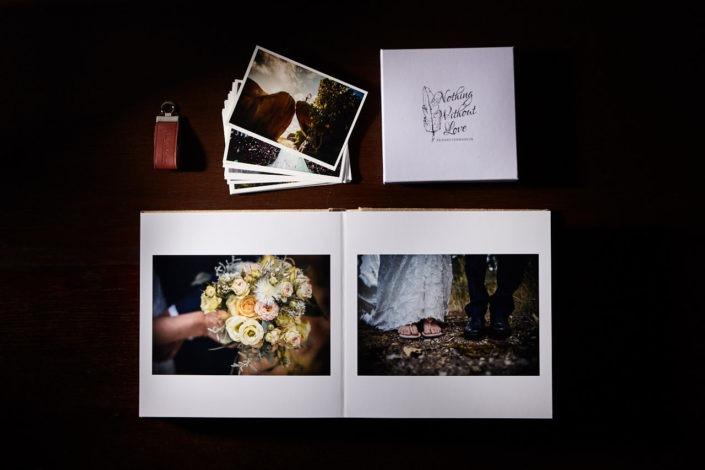 Hochwertige Hochzeitsalben